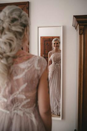 Spieglein, Spieglein an der Wand, die schönste im ganzen Land ist natürlich die Braut!
