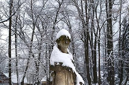 Unser Park im Winter